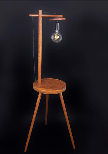 Wooden lamps 12